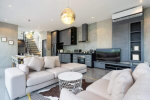 Luxurious-living-room-in-loft-villa-apartment-and-penthouse